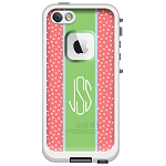 Monogrammed LifeProof Fre iPhone 6 Cases