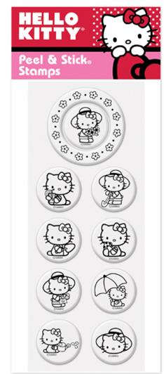 Peel & Stick Hello Kitty - Garden Club Pack