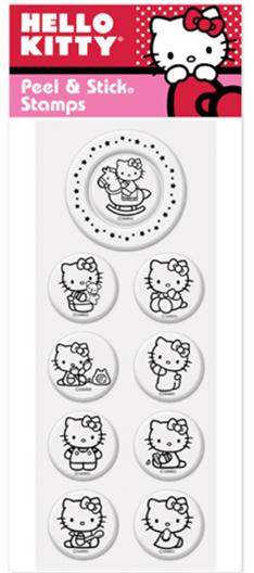 Peel & Stick Hello Kitty - Play Time Pack