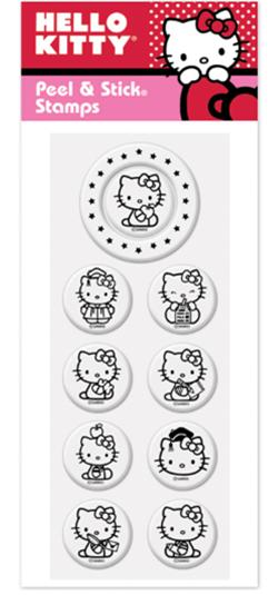 Peel & Stick Hello Kitty - School Days Pack