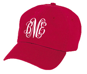 Red Youth Baseball Cap