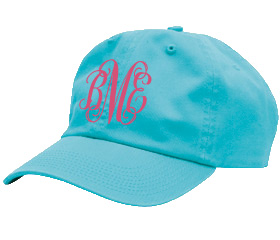 Turquoise Youth Baseball Cap