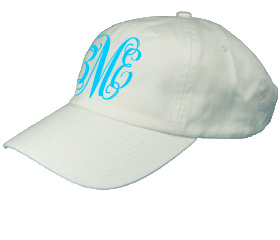 White Youth Baseball Cap
