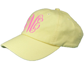 Pale Yellow Baseball Cap