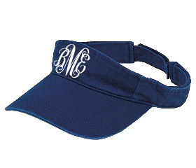 Navy Blue Visor