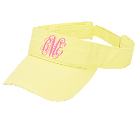 Pale Yellow Visor