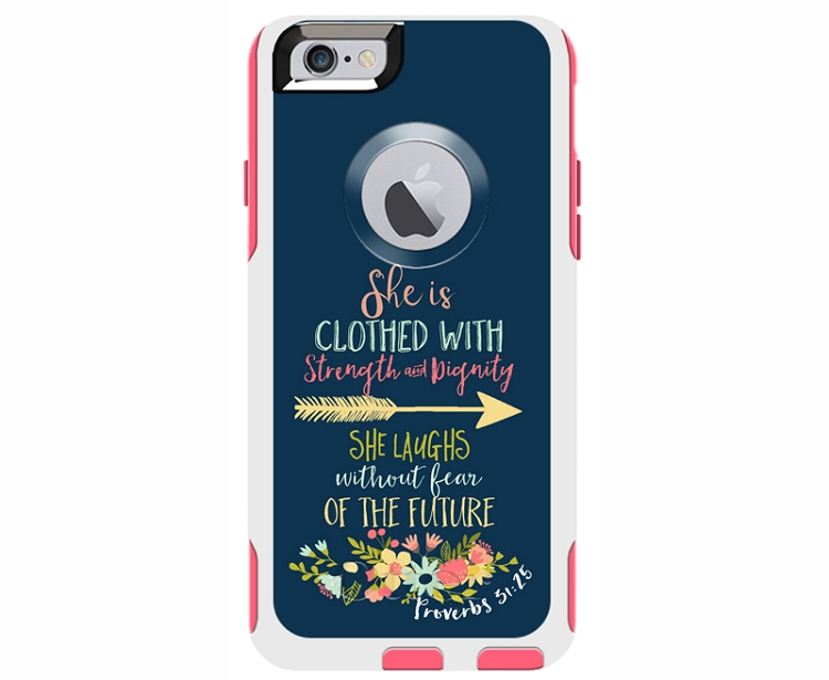 Proverbs 31:25 Otterbox Commuter iPhone 6/6s Case