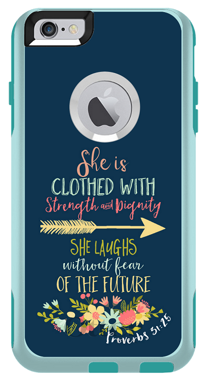 Proverbs 31:25 Otterbox Commuter iPhone 6/6s Plus Case