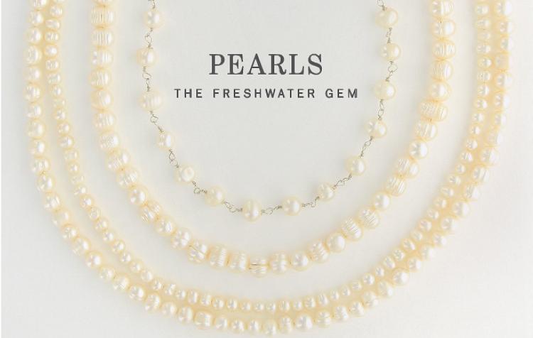 Freshwater Pearl Necklaces - 3 Styles