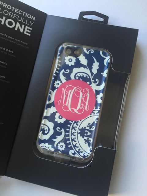 Sample Sale LifeProof Fre iPhone 5c Monogram: MOA