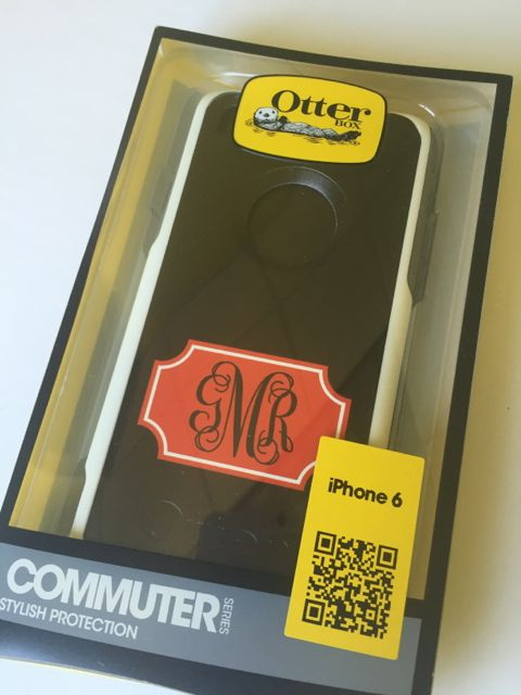 Sample Sale Otterbox Commuter iPhone 6 Monogram: GMR