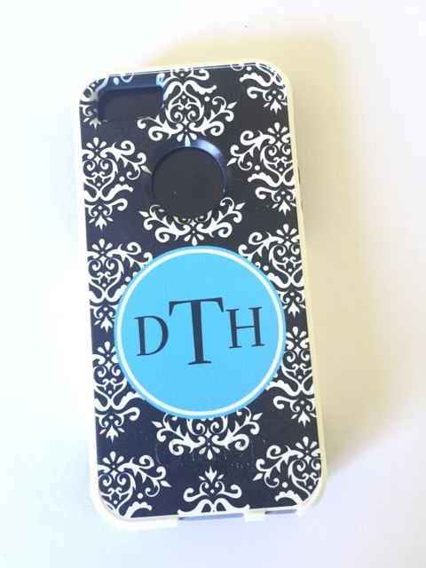 Sample Sale Otterbox Commuter iPhone 5/5s Monogram: DTH