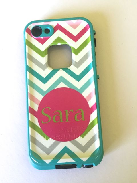 Sample Sale LifeProof Fre iPhone 5/5s Monogram: SARA