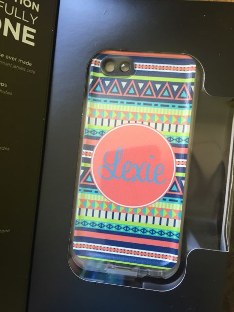 Sample Sale LifeProof Fre iPhone 5c Monogram: LEXIE