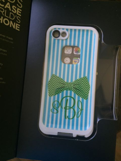 Sample Sale LifeProof Fre iPhone 5/5s Monogram: SBJ