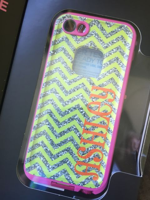 Sample Sale LifeProof Fre iPhone 5/5s Monogram: ASHLEY