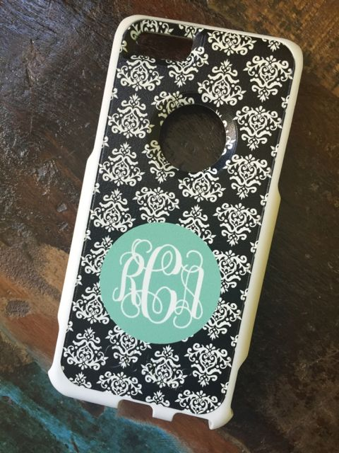 Sample Sale Otterbox Commuter iPhone 6 Monogram: RCA