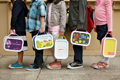 monogrammed lunchboxes for kids