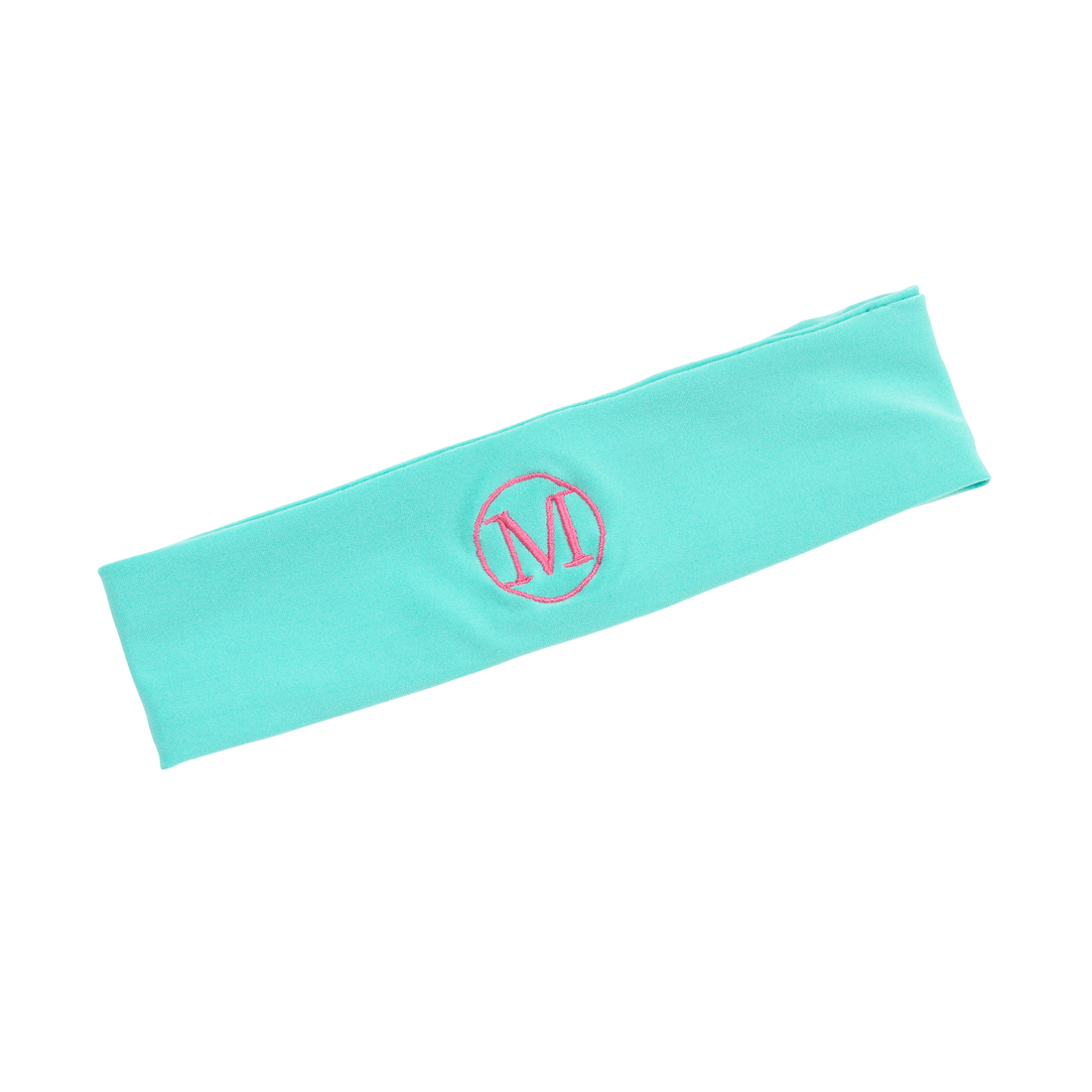 Monogrammed Mint Active Headband