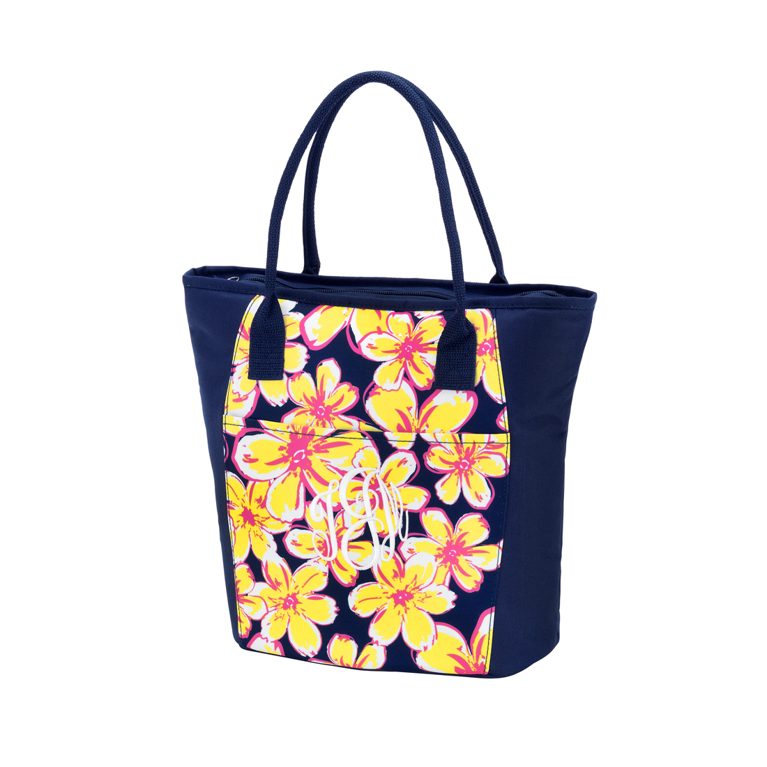 Beach Floral Cooler Tote