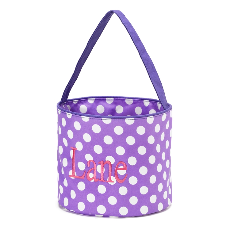 Purple Dot Easter Basket