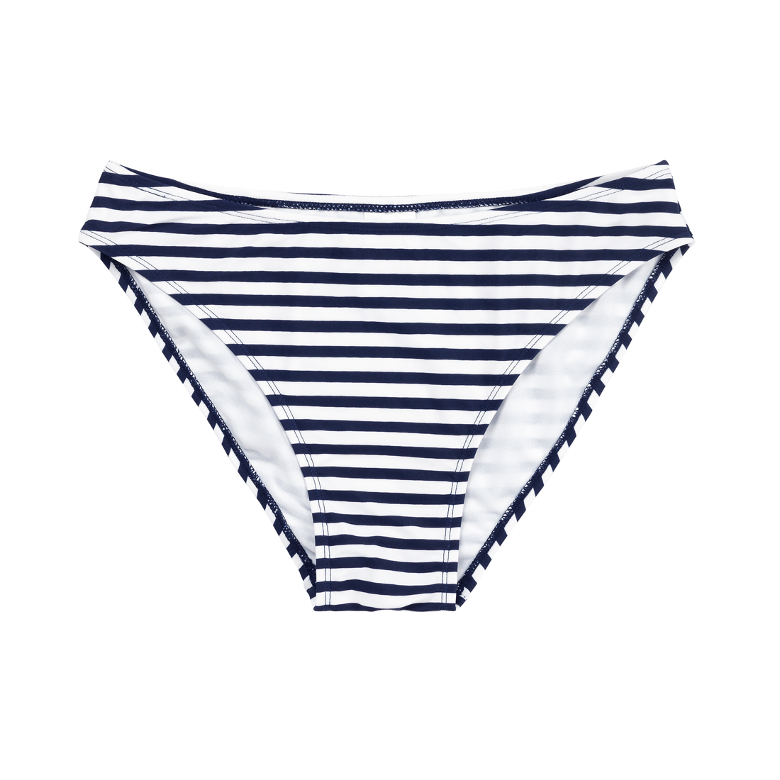 Monogrammed Mini Prep Stripe Swim Bottom