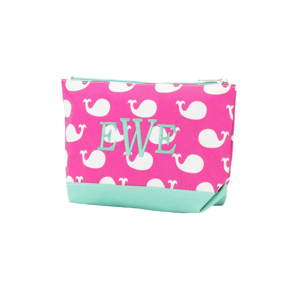 Whales Cosmetic Bag