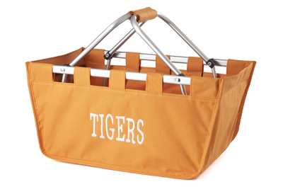 Orange Market Tote