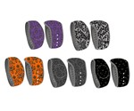Spooky Damask Halloween Decal for Disney MagicBand 2