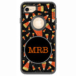 Halloween iPhone 7 Phone Cases - Candy Corn