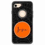 Spiderwebs Halloween Otterbox Defender iPhone 7 Case
