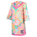 Monogrammed Summer Paisley Tunic