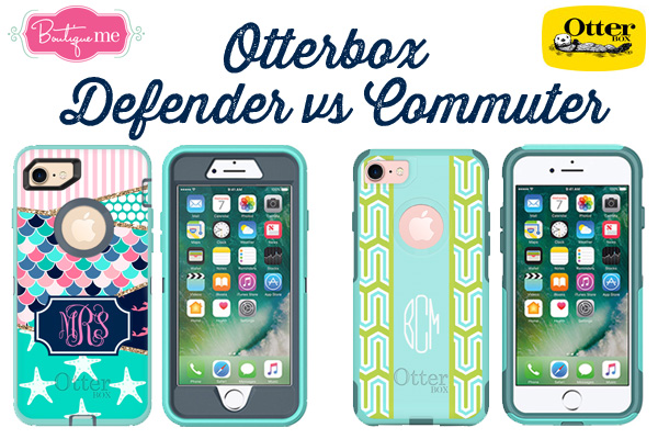 Otterbox Defender vs  Commuter Cases | Boutique Me