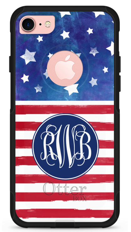 custom American flag phone case