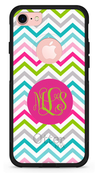 sassy chevron personalized phone case